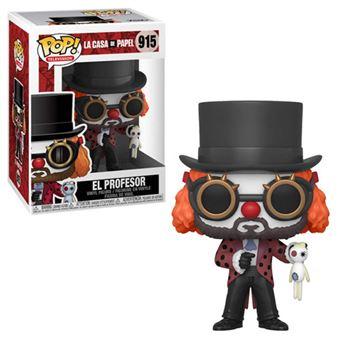 Funko Pop! La Casa de Papel: El Professor O Clown - 915