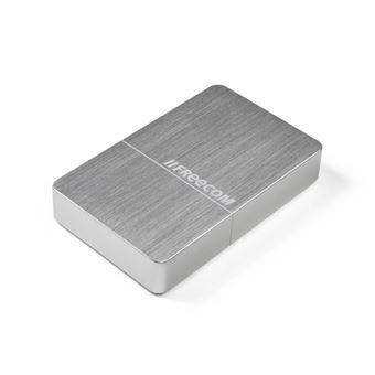 Disco Externo Freecom mHDD 10TB - Prateado