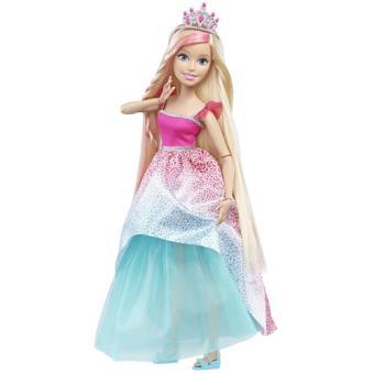 Barbie Princesa Cabelo sem Fim 43cm