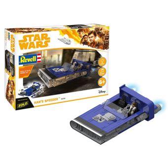 Kit Modelismo Revell Star Wars: Han's Speeder com Som e Luz