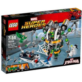 LEGO Marvel Super Heroes 76059 Homem-Aranha: A Armadilha de Tentáculos do Doc Ock
