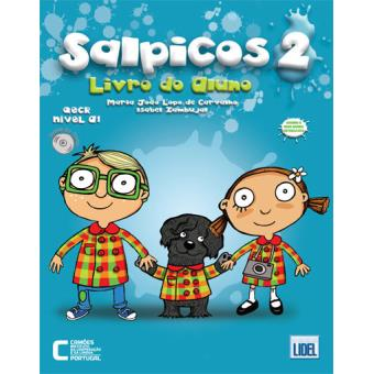 Salpicos 2 - Livro do Aluno + CD-Áudio