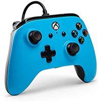 Comando com Fio Power A Azul Xbox One