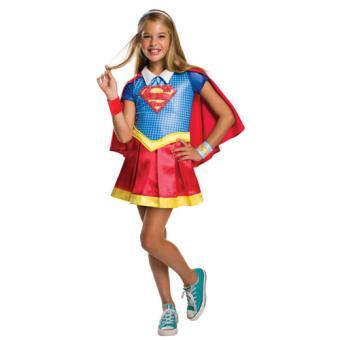 Disfarce Supergirl - Tamanho L 8 a 10 anos
