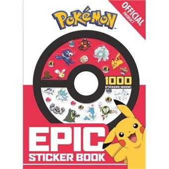 Official pokemon epic sticker book