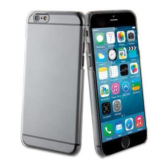 Muvit Capa Transparente + Ecrã Vidro Temperado para iPhone 6s Plus/6 Plus