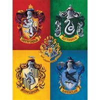Poster Harry Potter: Colourful Crests