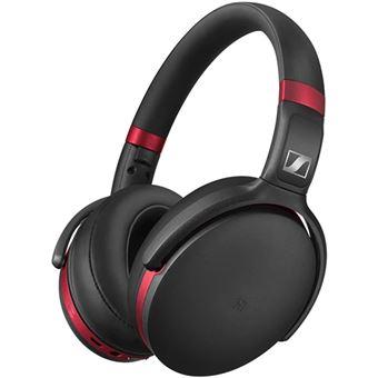 Auscultador Bluetooth Sennheiser HD 4.50R com Cancelamento de Ruído - Vermelho