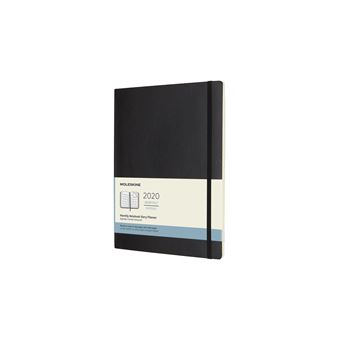 Agenda Mensal 12 Meses 2020 Moleskine XL Soft