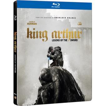 Rei Artur: A Lenda da Espada - Edição Caixa Metálica (Blu-ray 3D + 2D)