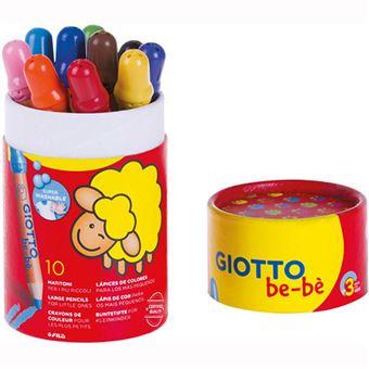 Lápis de Cor Giotto Be-BèFila - 10 Unidades