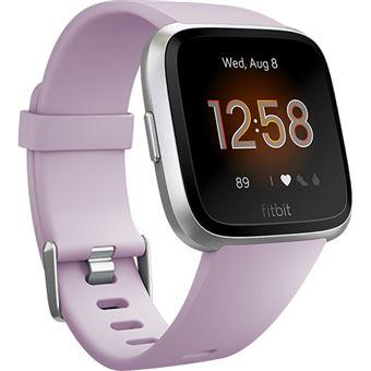 Relógio Desporto Fitbit Versa Lite - Lilás | Prateado