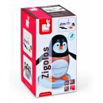 Zigolos de Encaixar Pinguim