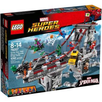 LEGO Marvel Super Heroes 76057 Homem-Aranha: O Supremo Combate da Ponte dos Guerreiros da Teia