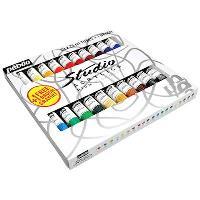Conjunto 20 Tubos Tinta Acrílica Studio Acrylics - 20ml