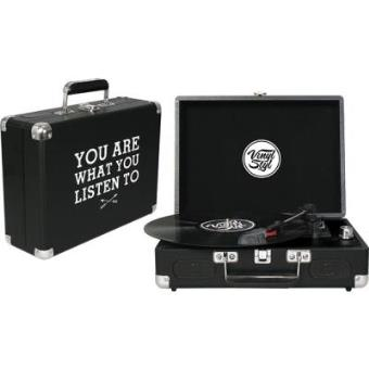 Vinyl Styl Groove Portable 3 Speed Turntable (you are what you listen to)