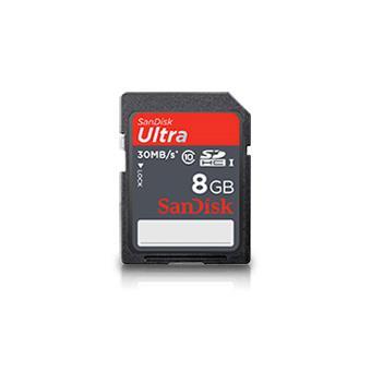 Sandisk SDHC Ultra 8GB