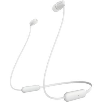 Auriculares Bluetooth Sony WI-C200 - Branco