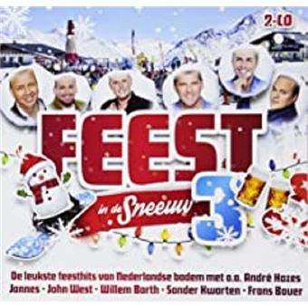 Feest In De Sneeuw 3 - 2CD
