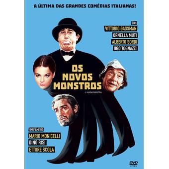 Os Novos Monstros (DVD)