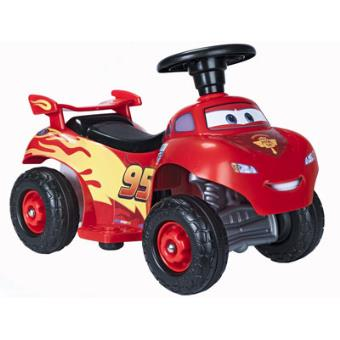 Quad Cars Lightning Mcqueen 6V.