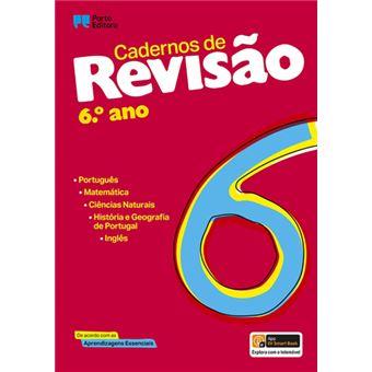 Cadernos de Revisão 6º Ano