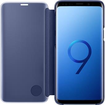 Capa Samsung Clear View para Galaxy S9 - Azul