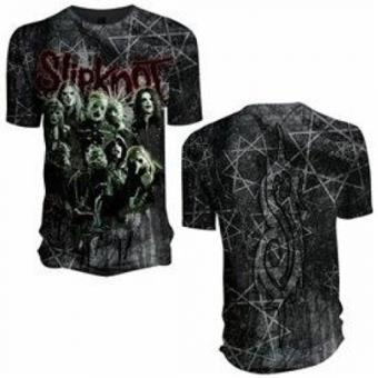 T-Shirt Slipknot - All Over Band M)
