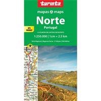 Mapa Turinta Regional - Norte de Portugal