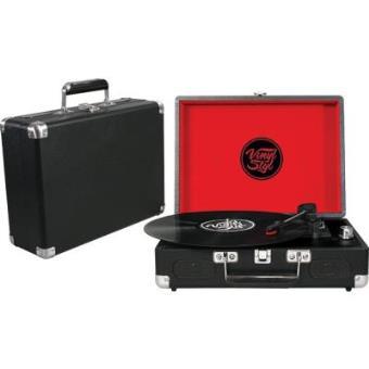 Vinyl Styl Groove Portable 3 Speed Turntable (Black)