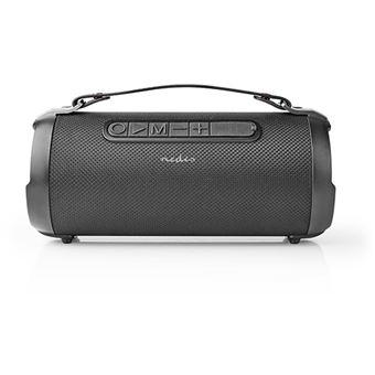 Coluna Bluetooth Nedis Party Boombox 30W - Preto