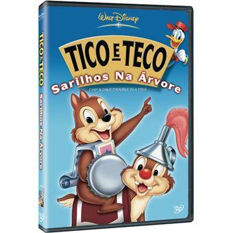 Tico e Teco: Sarilhos na Árvore - DVD