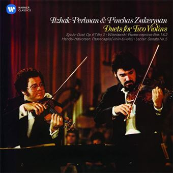 Duets for Two Violins: Perlman and Zukerman - CD