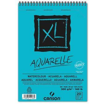 Bloco de Desenho Canson XL Aguarela A5 300g