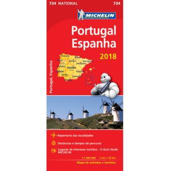 mapa michelin portugal e espanha Mapas e Guias Michelin   Guias de Turismo e Mapas   Fnac.pt mapa michelin portugal e espanha