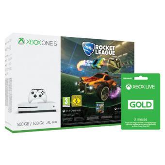 Consola Microsoft Xbox One S 500GB + Rocket League