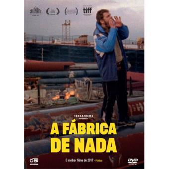A Fábrica de Nada - DVD