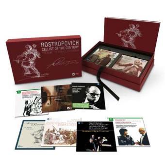 Rostropovich: Cellist of the Century (40CD+3DVD)