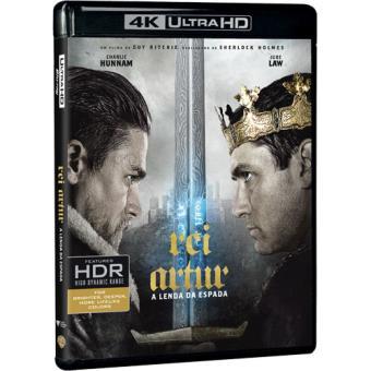 Rei Artur: A Lenda da Espada (4K Ultra HD + Blu-ray)