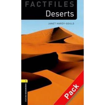 Oxford Bookworms Library Factfiles - Deserts: 400 Headwords Pack - Level 1