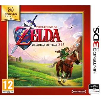 Selects The Legend of Zelda: Ocarina of Time 3D 3DS