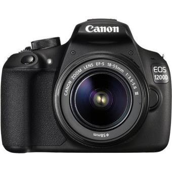 Canon EOS 1200D + EF-S 18-55mm f/3.5-5.6 DC III + Bolsa + Cartão SD
