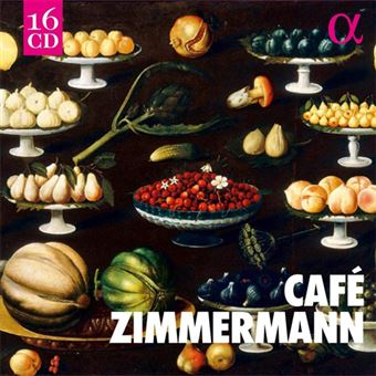 Café Zimmermann Alpha Recordings - 16CD