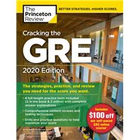Cracking the GRE 2020 Edition