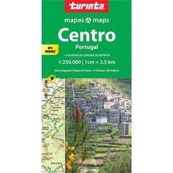 Mapa Turinta Regional - Centro de Portugal