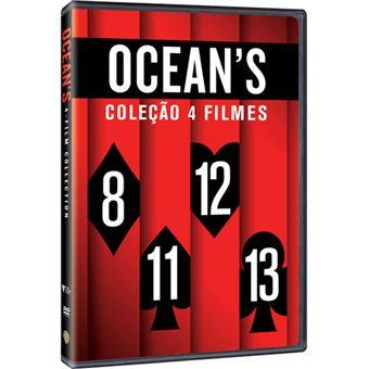 Pack Ocean's - Coleção 4 Filmes - DVD