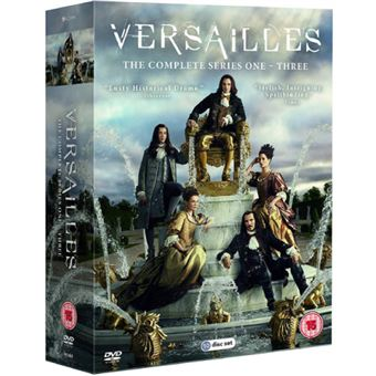 Versailles - Season 1-3 - 10DVD Importação
