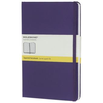 Moleskine: Caderno Quadriculado Grande Violeta