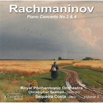 Rachmaninov: Piano Concertos Nos. 2 & 4 - CD