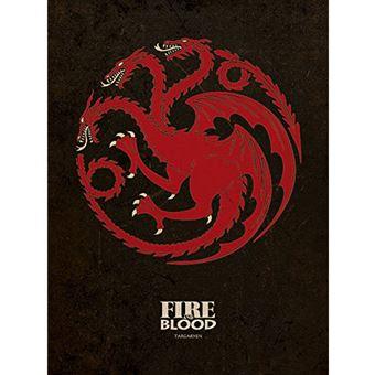 Tela Game of Thrones: Targaryen
